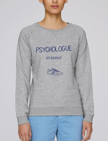 Sweat Psychologue en basket - Comptoir des Psychologues
