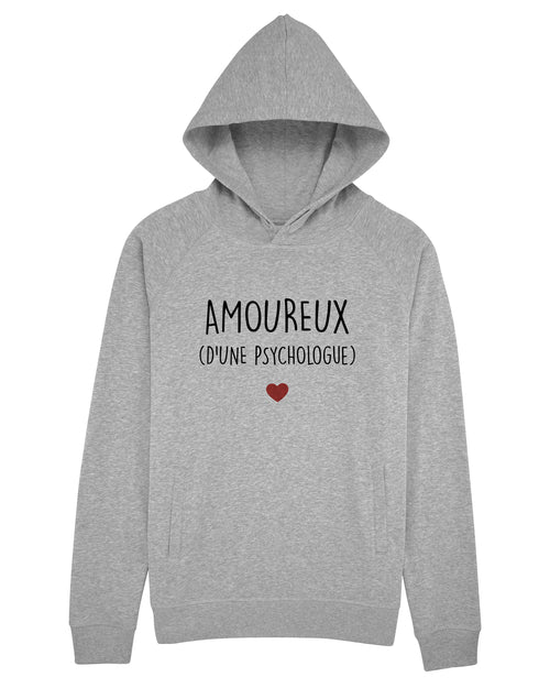 Sweat capuche Amoureux Psychologue - Comptoir des Psychologues