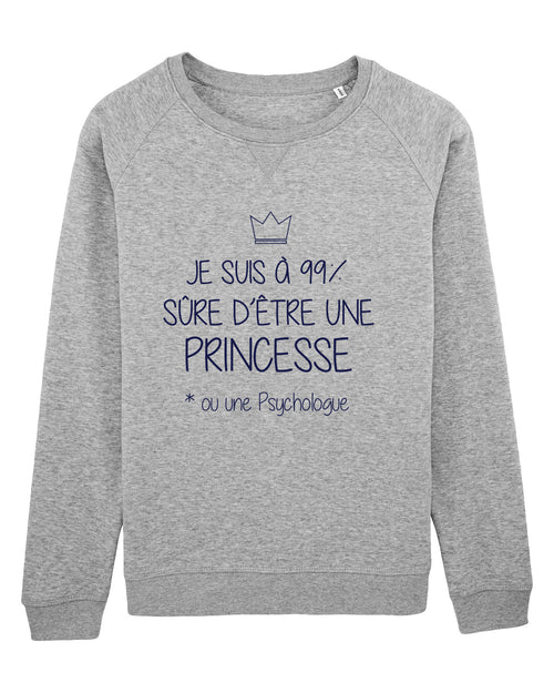 Sweat Princesse 99% - Comptoir des Psychologues