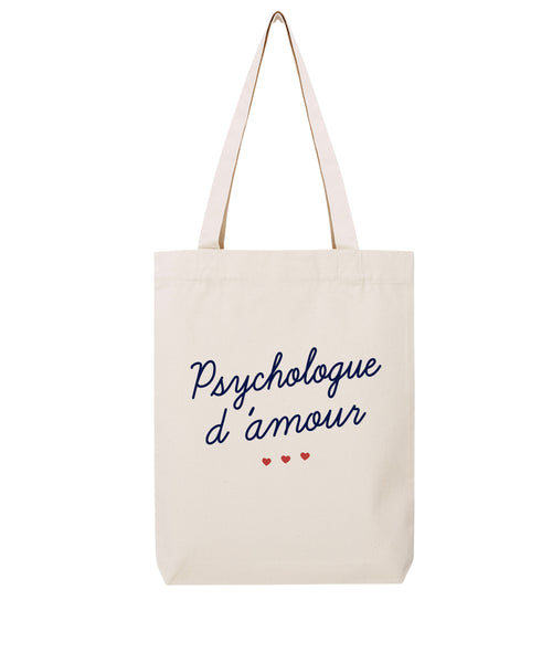 Tote bag Psychologue d'amour - Comptoir des Psychologues