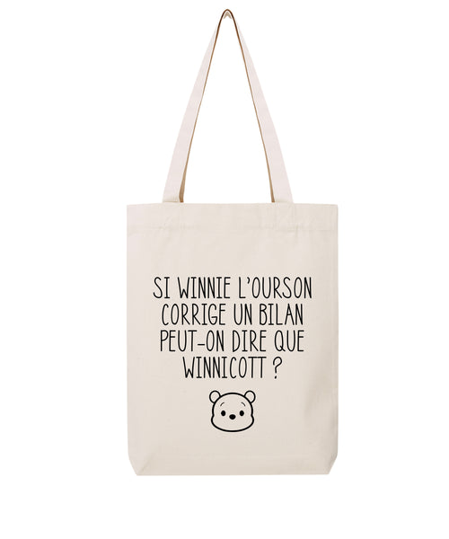 Tote bag Winnie L'Ourson - Comptoir des Psychologues