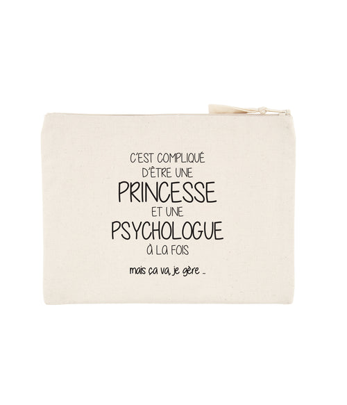 Pochette Princesse Psychologue - Comptoir des Psychologues