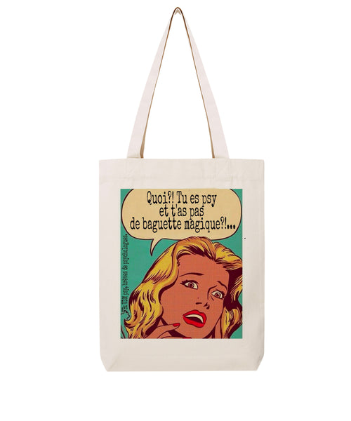 Tote bag Baguette - Comptoir des Psychologues