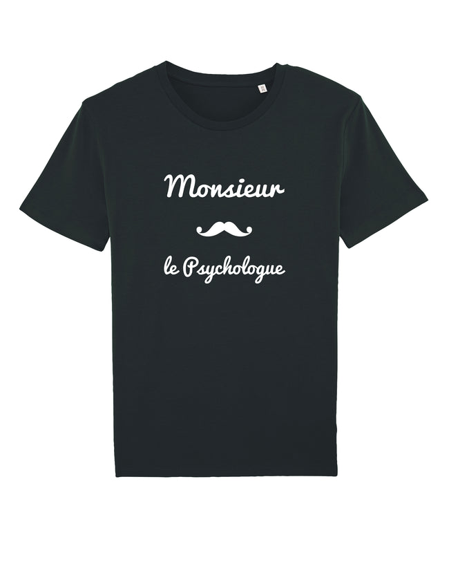 T-shirt Monsieur Moustache - Comptoir des Psychologues