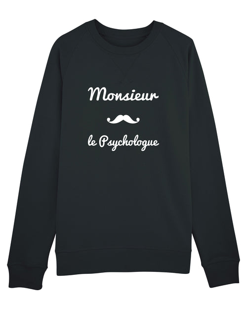 Sweat Monsieur Moustache - Comptoir des Psychologues