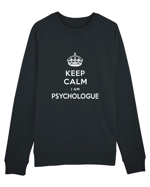 Sweat Keep calm H - Comptoir des Psychologues