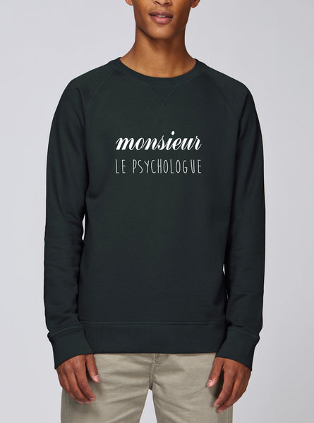 Sweat Monsieur Psychologue - Comptoir des Psychologues