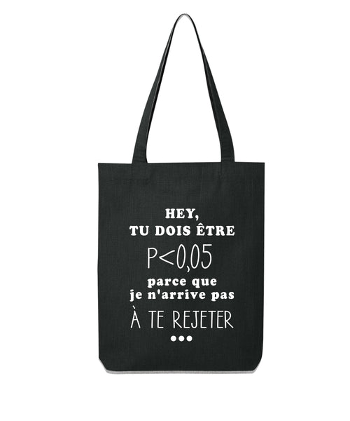 Tote bag Drague de psy - Comptoir des Psychologues