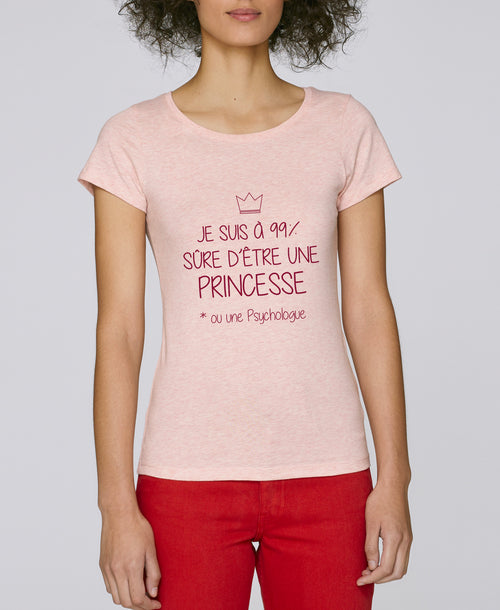 T-shirt Princesse 99% - Comptoir des Psychologues