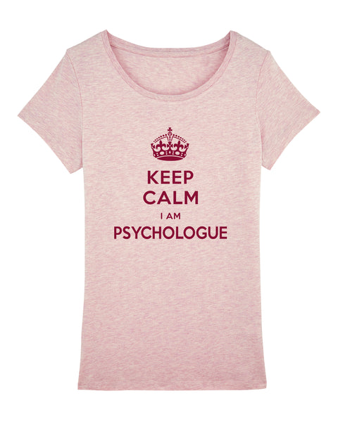 T-shirt Keep calm I'm Psychologue - Comptoir des Psychologues