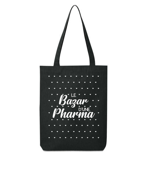 Tote bag Bazar coeur Pharmacienne - Comptoir des Psychologues