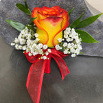 Orange Rose (Boutonniere)