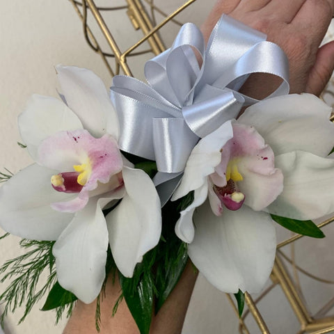 White Corsage (Orchids)