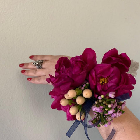 Red Corsage (Peony)