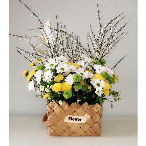 Field Flowers Basket