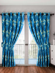 Premium Quality Polyester Door Curtains Pack Of 2