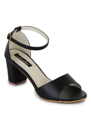 Black Block Heel