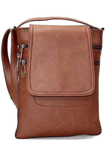 PU Sling bag - Brown