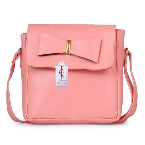 Women's Regular Size PU Sling Bag