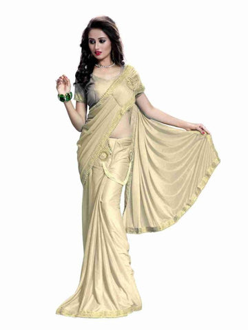 Designer Ready To Wear Embellished Saree