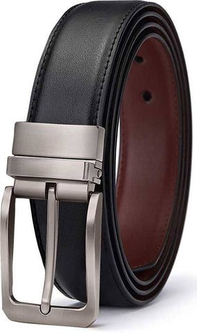 Fancy Black PU Casual Belt