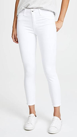 Women's White Denim Solid Jeans