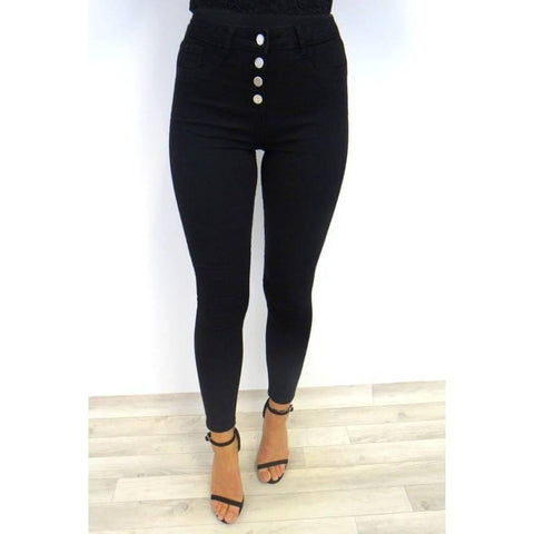 Women's Clean Look - Black Jeans