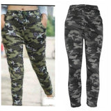 Exotic Spandex Camouflage Printed Jeggings Combo Of 2