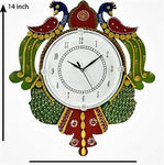 Wooden Handmade Wall Clock for Home/Living Room/Bedroom/Kitchen/Offices