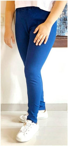 Women Solid Denim Jeggings