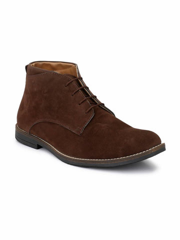 Men's Brown Suede Chukka Boots