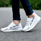 Elegant White Mesh Solid Sports Shoes For Men - Trend Eve