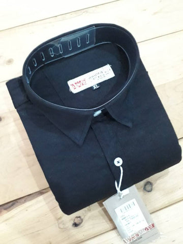 Modern Cotton Solid Casual Shirt For Men