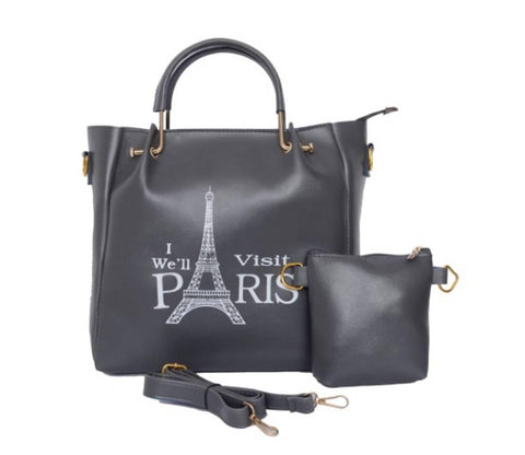 Elegant Combo Of Handbag With Sling Pouch