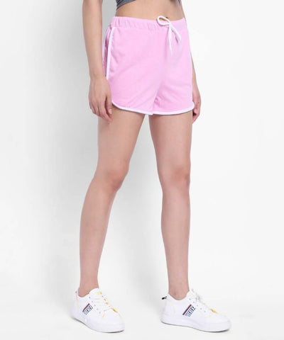 Vivient  Women Pink Hosery Short