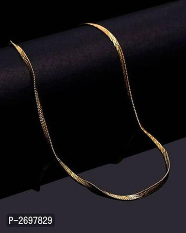 Trendy Designer Gold Plated Men's Chain - Trend Eve