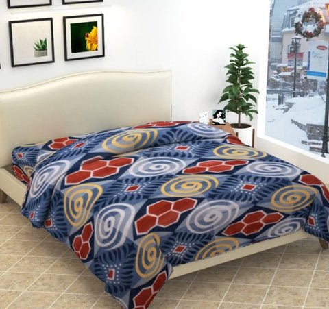 Fleece Queen Bed Razai For Winters (Dohar)