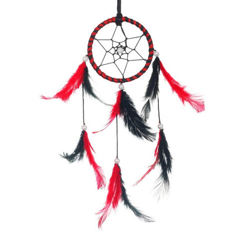 BS AMOR Sacred Hoops | Wall Hanging, Car Hanging | Home Decorative Showpiece Height 41CM, Pack of 1 (Red Black)… - Trend Eve