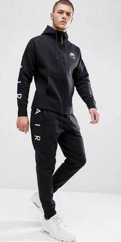 BRANDED HIGH QUALITY BLACK POLYESTER SPORTS & GYM WEAR MEN'S TRACKSUITS FOR BOY'S