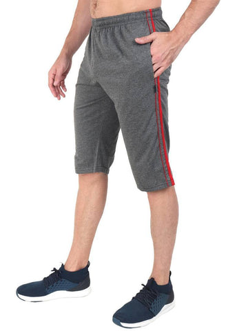 Men's Cotton Three Fourth Capri
