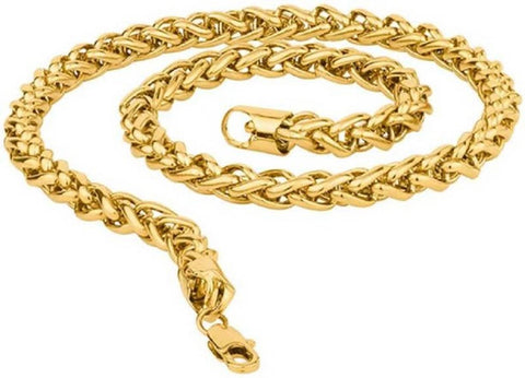 Stylish Trendy Alloy Gold Plated Chain - Trend Eve