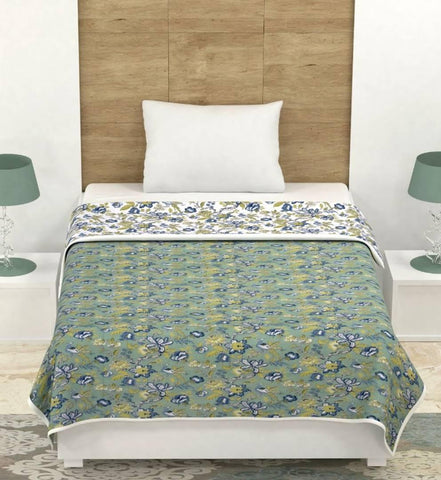 Beautiful Cotton Printed Dohar A/c Blanket - Trend Eve