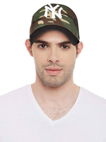 Stylish Multicoloured Baseball Cap For Hunting For Unisex - Trend Eve