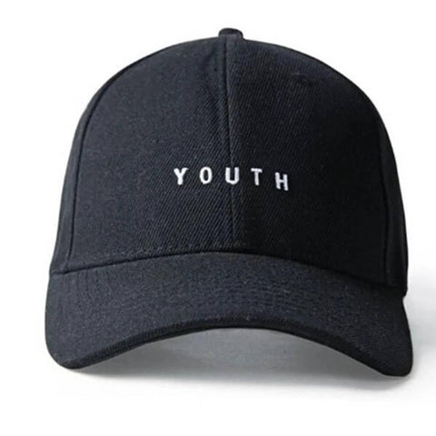 Stylish Cotton Black Printed Baseball Cap For Unisex - Trend Eve