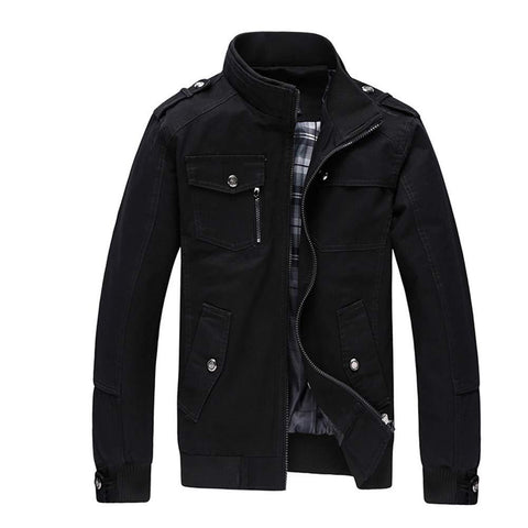 Men Leisure Jacket for Men Zipper - Trend Eve
