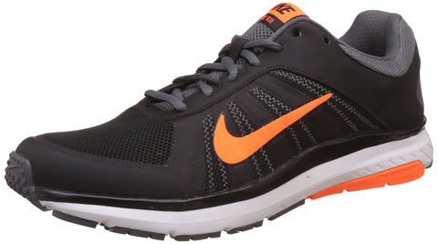 Nike Men's Dart 12 MSL Black, Total Orange and Dark Grey Running Shoes -9 UK (44 EU) (10 US)(831533-009) - Trend Eve