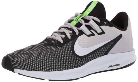 Nike Men's Downshifter 9 Black/White-Vast Grey Running Shoes-10 UK (45 EU) (11 US) (AQ7481-007) - Trend Eve