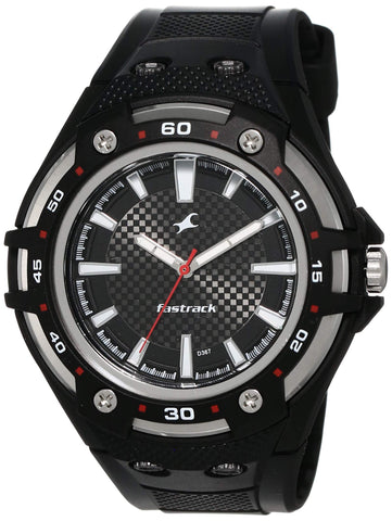 Fastrack New OTS Analog Black Dial Men's Watch -NK9332PP02 - Trend Eve