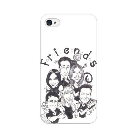 F.R.I.E.N.D.S Apple Mobile Cover - Trend Eve
