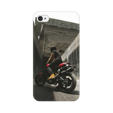 Boy with Bike Apple Mobile Cover - Trend Eve